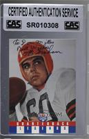 Otto Graham [CASCertifiedSealed]
