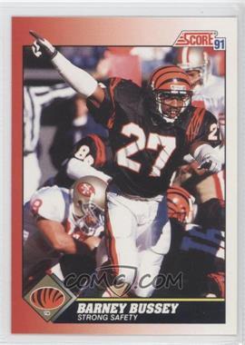 1991 Score - [Base] #187 - Barney Bussey