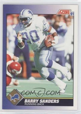 1991 Score - [Base] #20 - Barry Sanders