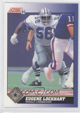 1991 Score - [Base] #35 - Eugene Lockhart