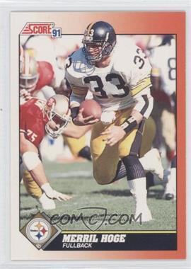 1991 Score - [Base] #355 - Merril Hoge
