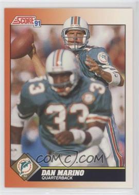 1991 Score - [Base] #385 - Dan Marino