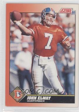 1991 Score - [Base] #410 - John Elway