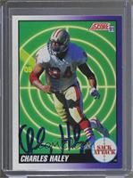 Charles Haley [JSA Certified Auto]