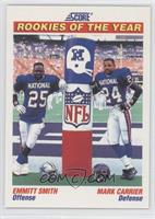 Emmitt Smith, Mark Carrier