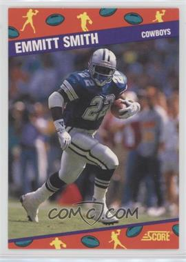 1991 Score National Convention - [Base] #1 - Emmitt Smith