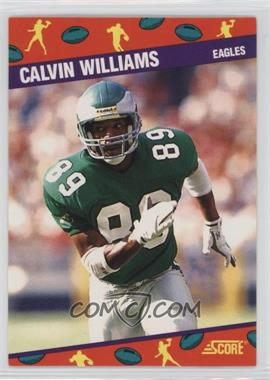 1991 Score National Convention - [Base] #10 - Calvin Williams