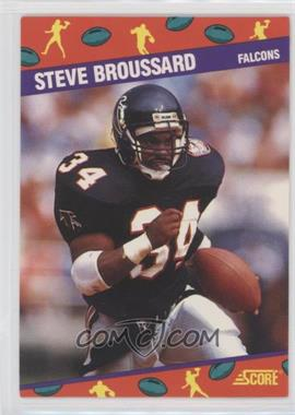 1991 Score National Convention - [Base] #3 - Steve Broussard