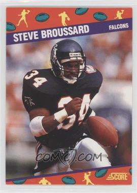 1991 Score National Convention - [Base] #3 - Steve Broussard
