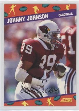 1991 Score National Convention - [Base] #4 - Johnny Johnson