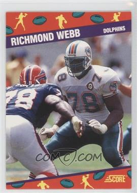1991 Score National Convention - [Base] #6 - Richmond Webb