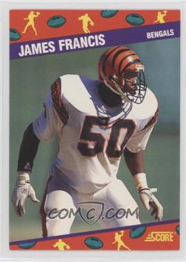 1991 Score National Convention - [Base] #7 - James Francis