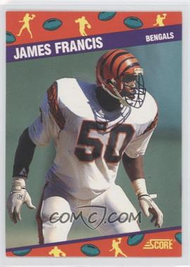 1991 Score National Convention - [Base] #7 - James Francis
