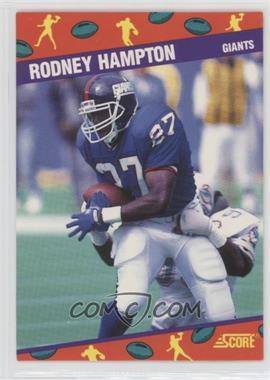 1991 Score National Convention - [Base] #9 - Rodney Hampton
