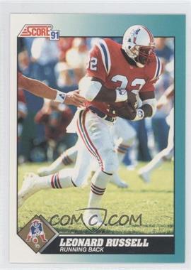 1991 Score Rookie & Traded - [Base] #109T - Leonard Russell