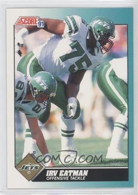 1991 Score Rookie & Traded - [Base] #41T - Irv Eatman