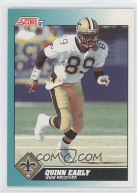 1991 Score Rookie & Traded - [Base] #46T - Quinn Early