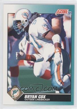 1991 Score Rookie & Traded - [Base] #60T - Bryan Cox