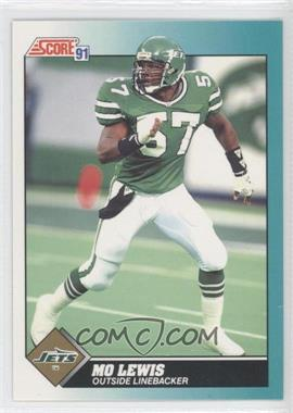 1991 Score Rookie & Traded - [Base] #63T - Mo Lewis