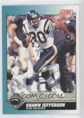 1991 Score Rookie & Traded - [Base] #67T - Shawn Jefferson