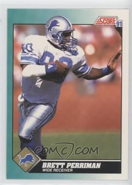 1991 Score Rookie & Traded - [Base] #6T - Brett Perriman