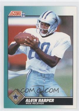 1991 Score Rookie & Traded - [Base] #71T - Alvin Harper
