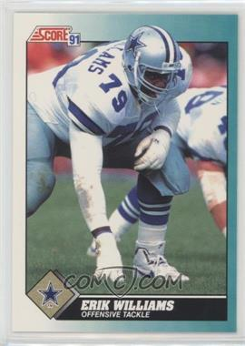 1991 Score Rookie & Traded - [Base] #85T - Erik Williams