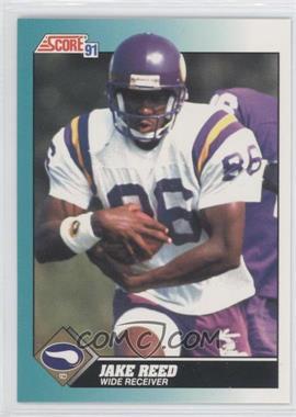 1991 Score Rookie & Traded - [Base] #91T - Jake Reed