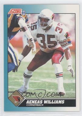 1991 Score Rookie & Traded - [Base] #94T - Aeneas Williams