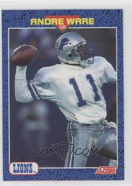 1991 Score Young Superstars - [Base] #32 - Andre Ware