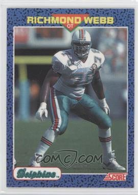 1991 Score Young Superstars - [Base] #33 - Richmond Webb