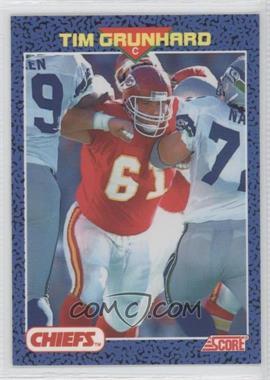 1991 Score Young Superstars - [Base] #35 - Tim Grunhard