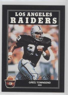 1991 Smokey Bear Los Angeles Raiders - [Base] #GRTO - Greg Townsend