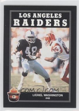1991 Smokey Bear Los Angeles Raiders - [Base] #LIWA - Lionel Washington