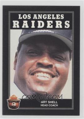1991 Smokey Bear Los Angeles Raiders - [Base] #N/A - Art Shell