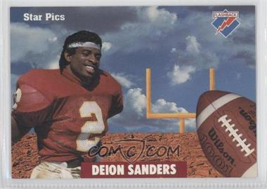 1991 Star Pics - [Base] - Certified Autograph #80 - Deion Sanders