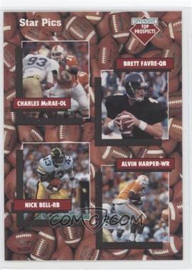 1991 Star Pics - [Base] #109 - Charles McRae, Nick Bell, Brett Favre, Alvin Harper