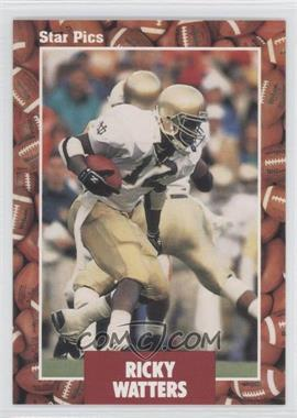 1991 Star Pics - [Base] #39 - Ricky Watters