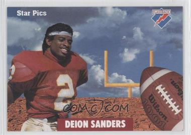 1991 Star Pics - [Base] #80 - Deion Sanders