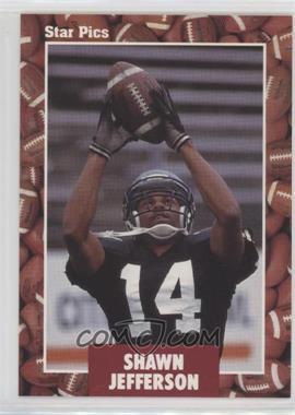 1991 Star Pics - [Base] #98 - Shawn Jefferson