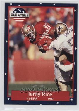 1991 Stars 'n Stripes - [Base] #110 - Jerry Rice