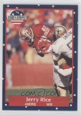 1991 Stars 'n Stripes - [Base] #110 - Jerry Rice
