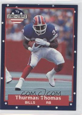 1991 Stars 'n Stripes - [Base] #5 - Thurman Thomas