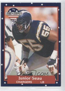 1991 Stars 'n Stripes - [Base] #56 - Junior Seau
