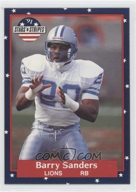 1991 Stars 'n Stripes - [Base] #73 - Barry Sanders