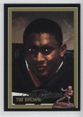 1991 The Heisman Collection - Box Set [Base] #53 - Tim Brown