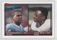 Haywood Jeffires, Jerry Rice