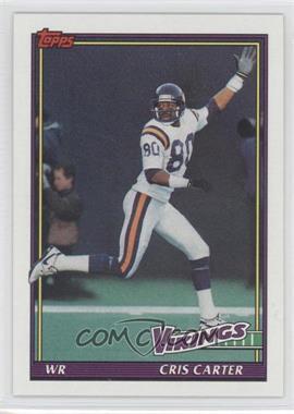 1991 Topps - [Base] #386 - Cris Carter