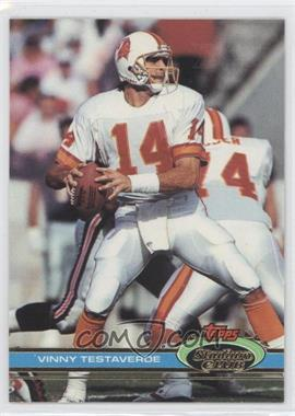 1991 Topps Stadium Club - [Base] - Super Bowl XXVI #24 - Vinny Testaverde