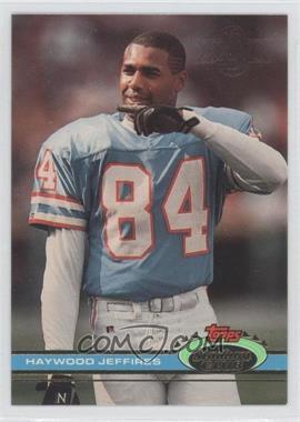 1991 Topps Stadium Club - [Base] - Super Bowl XXVI #479 - Haywood Jeffires